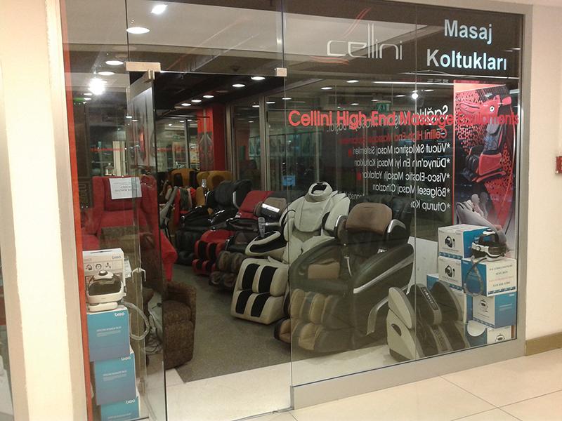 İstanbul Ataköy Masaj Koltuğu Mağazamız