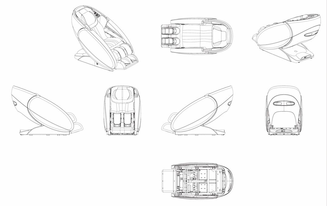 Venüs Masaj Koltuğu Tasarımı